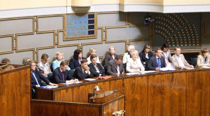 Keskustelualoite eduskunnan puhemiehelle ulosoton ongelmista