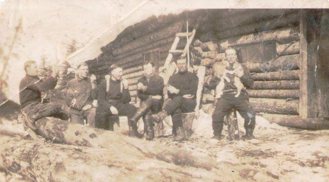 Lokareina lännen risukoissa, oikeasti Kanadan metsätyömailta 1930-luvulta