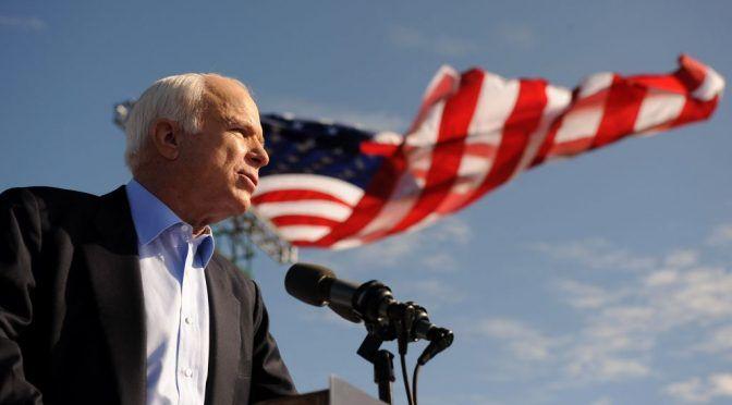 Yhdysvaltalaissenaattori John McCain