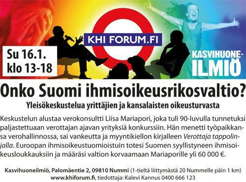 Oikeusrauha on Suomessa tabu,