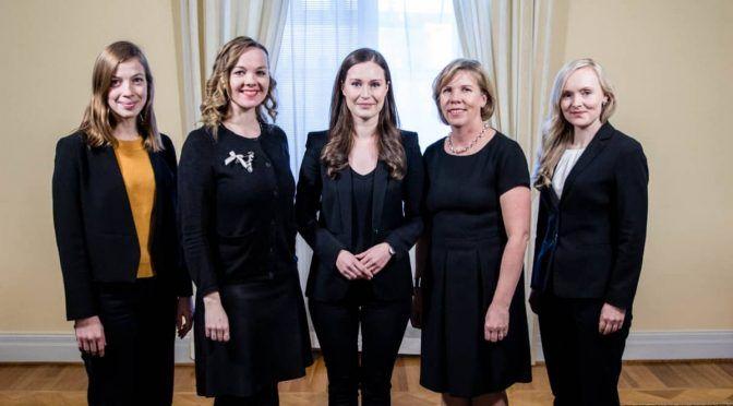 Naiset ottavat vastuuta puoluejohtajina