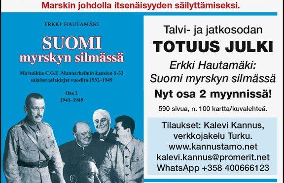 Suomi myrskyn silmässä 2. osa, esittely ja tilaus